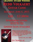 Redd Volkaert Guitar Clinic 12:30pm $20