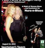 Nurs-N-Blues Fundraiser w/Patti Parks & Bridget Kelly Band 7pm $20