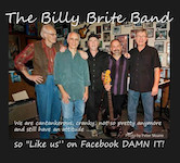 Billy Brite Band Reunion 4pm $10ad/$15door