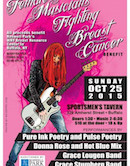 13th Annual Female Musicians Fighting Breast Cancer 2pm $10