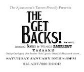 The Get Backs Annual Beatles & Wings Rock Show 8:30pm $15ad/$20door