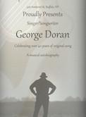 "George Doran ""A Musical Autobiography"" 7pm $10"