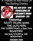 Its Only Rock N Roll A Tribute To The Music Of The Rolling Stones 9pm $10