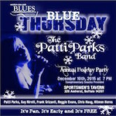WNY Blues Society BLUE Thursday The Patty Band Annual Holiday Party 7pm FREE