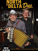 North Delta Duo CD release and LeeRon Zydeco 3:30pm $3