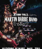 Martin Barre Band 6pm $35ad/$40door Doors 4pm