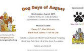 Dog Days Of August Fundraiser w/Davey O, Alan Whitney, Black Rock Zydeco, Five To One 6pm $10@Door
