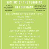 Benefit Concert For Victims Of Louisiana Flooding 6pm $7/$5w/food donation