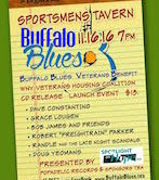 Buffalo Blues Veterans Benefit 7pm $13