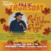 WNY Blues Society Blue Thursday Rod Nickson Project 7pm NO COVER