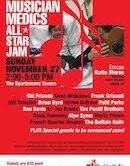 Musician Medics All Star Jam 2pm $20