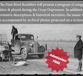 Dust Bowl Ramblers 7pm NO COVER