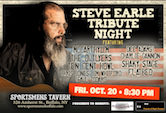 A Tribute To Steve Earle 8:30pm $7@door