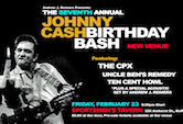 The 7th Annual Cash Bash w/The CPX,Uncle Ben's Remedy, Ten Cent Howl & Andrew J Reimers 9:30pm $5