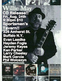 Willie May CD Release 9:30pm $10