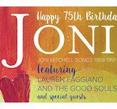 Joni Mitchell Birthday Celebration w/Lauren Faggiano & The Good Souls 9:30pm $10