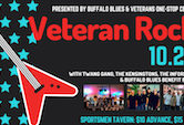 Veteran Rock w/Twang Gang/The Kensingtons/The Informers/Buffalo Blues Benefit Band 6pm $10ad/$15door