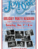 Joyride w/The Hitmen Horns Holiday Show/Reunion Benefitting St. Luke's Mission Of Mercy 8pm $5@door