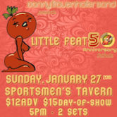 Little Feat 50th Anniversary Tribute w/Donny Frauenhofer Band 5pm $12ad/$15door