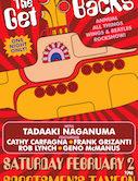 The Get Backs Annual Wings & Beatles Rock Show w/Tadaaki Naganuma 9pm $15ad/$20door