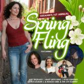 DeeAnn's 1st Annual Spring Fling $15ad/$18door/$20VIP 9:30pm