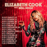 Elizabeth Cook wth Will Hoge 7:30pm $25 Tickets On Sale 6/28/19 @10am