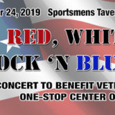 Red White Rock & Blues Benefit For Veterans One Stop Center of WNY 6pm $10ad/$15door