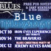 WNY Blues Society Blue Thursday Iron Eyes Experience (SRV Tribute) 7pm $5nonmembers/members free