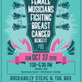 17th Annual Female Musicians Fighting Breast Cancer 1:30pm $10
