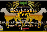 Barktober Fest benefit for the Pet Emergency Fund Black Rock Zydeco, Middlemen & Davey O 6pm $10