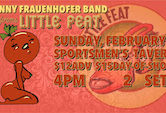 Donny Fraunhofer Band Performs Little Feat $12ad/$15door 4pm Doors