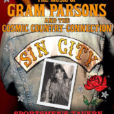 """""""Take Me to Your Dance Floor"""" The Music of Gram Parsons & The Cosmic Country Connection $15 4pm"""