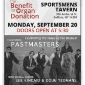 ONE8FIFTY Partners In Transplant The Benefit for Organ Donation 5:30pm $20 Yeomans/Kincaid & The Pastmasters